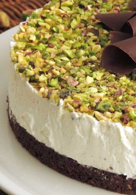 cheesecake al pistacchio chiccacook